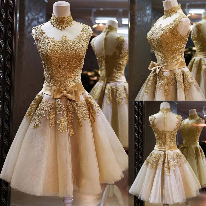 Lace prom dress vintage