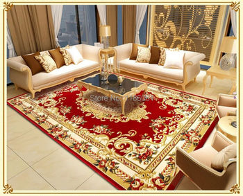 Скидка лохматый современный ковер для Livingroom и большая площадь красный ковер из спальня ковры мат Tapetes де сала
