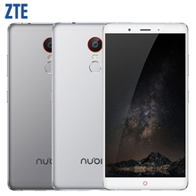 "Original ZTE Nubia Z11 Max 6.0 "" Snapdragon 652 64bit Octa Core Mobile phone 4G LTE 4GB RAM 64GB ROM 16.0MP Fingerprint 4000mAh"