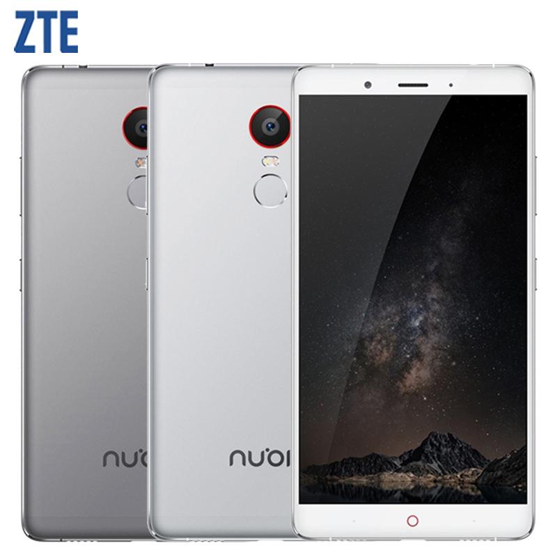 "Original ZTE Nubia Z11 Max 6.0 "" Snapdragon 652 64bit Octa Core Mobile phone 4G LTE 4GB RAM 64GB ROM 16.0MP Fingerprint 4000mAh(China (Mainland))"