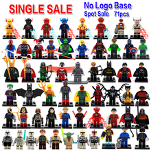 Single sale DC Marvel super hero batman deadpool harley quinn Minifigures Collection Building Block Best Children Gift Toy(China (Mainland))
