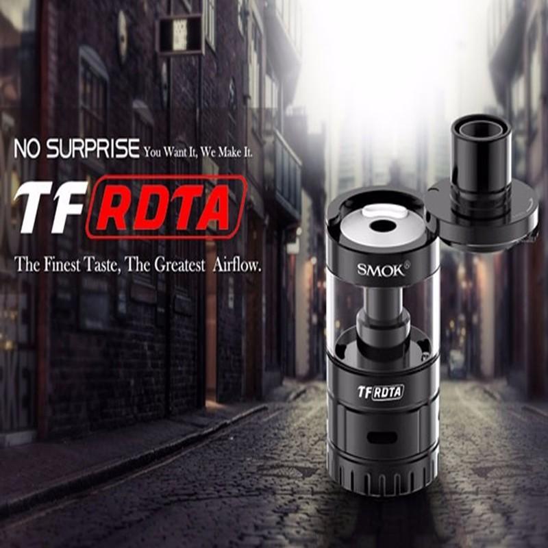 Original Smok TF-RDTA Tank 5ml e cigarette Stock smok micro one r80 kit +TF-RDTA Tank/Smok TFV8 free shipping Smok Osub kit