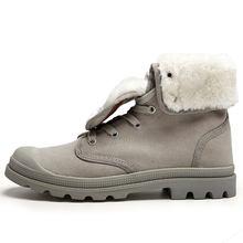 WOLF DIE Merk Hot Nieuwste Houden Warme Winter Laarzen Mannen Hoge Kwaliteit Slijtvaste Casual Schoenen Werken Mode Mannelijke Laarzen x-187(China)