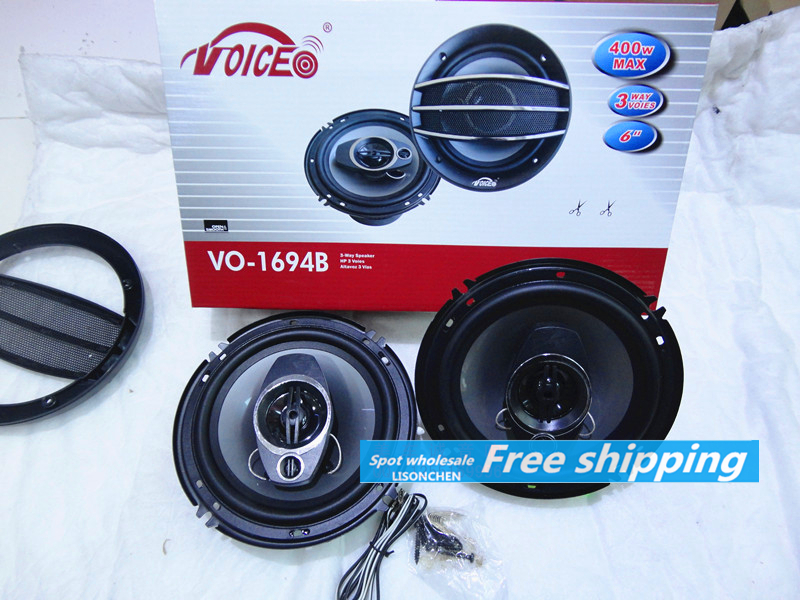 Car stereo speakers 6.5-inch coaxial speakers car speakers 6.5 inch exit * a pair of mating screw thread wholesale,Free shipping<br><br>Aliexpress