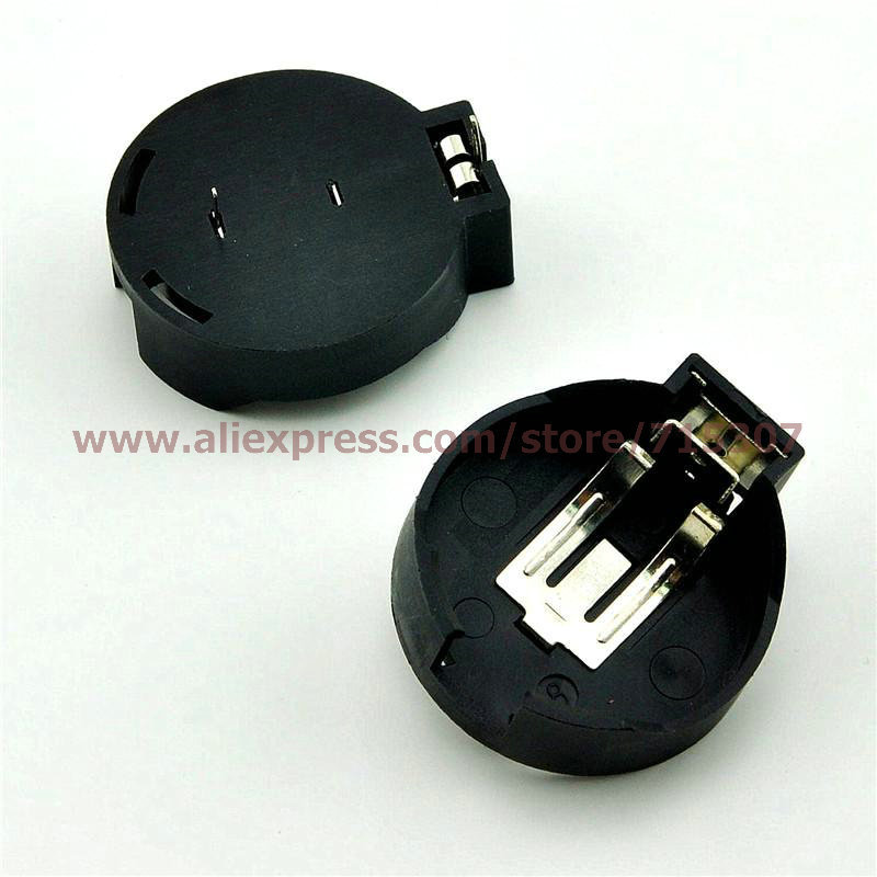 5pcs coin cell holder CR2450 free shipping(China (Mainland))