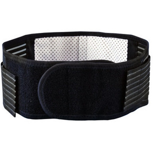 1pcs New High Elasticity Self-heating Tourmaline Magnetic Belt Lumbar Support Brace Double Banded Adjustable Pad Lower Back Pain(China (Mainland))