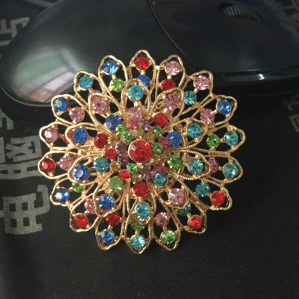 FREE SHIPPING Small mixed batch of Korean high-grade flower brooch pin material diy bride holding flower accesso(China (Mainland))