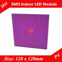 Indoor P4  RGB LED  Adverting Screen Unit board 32x32 pixels 1/16 Scan Directly Factory Price(China (Mainland))