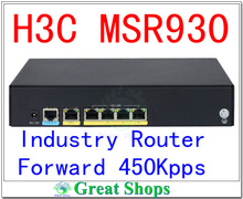 h3c msr930 router Industry 1000mbps wifi router vpn throughput 160Mbps sppurter 3g 4g lte router console setting(China (Mainland))