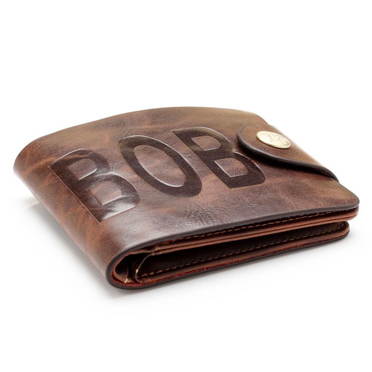 new arrival 2015 brand unique mens wallet leather vintage