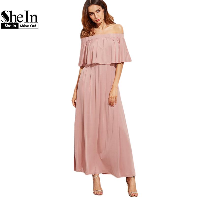 online kaufen gro handel lange rosa kleid aus china lange. Black Bedroom Furniture Sets. Home Design Ideas