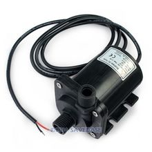 HOMSECUR  12V Dc Brushless Micro Water Pump /oil Pump Micro Cooling Pump Dc40E-1250 NEW(China (Mainland))
