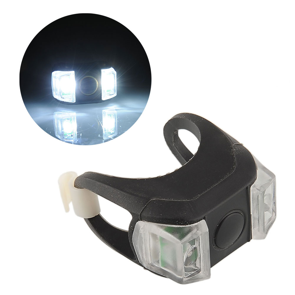 2015 Bike Bicycle Cycling MTB Silicone Head Front Rear Tail Taillight Flash Flashlight Light LED Bright Outdoor Sports<br><br>Aliexpress