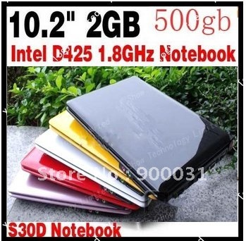10.2 inch mini laptop notebook MID