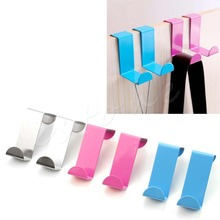 HQ New Door Hook Stainless Kitchen Cabinet Clothes Hanger Organizer Holder - Fantasy Lamp Store store