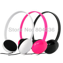Small Overhead Boys Girls Kids Children Headphones Headsets with Desktop Mic for iPod iPad MP3 Kindle HD / Black White Pink