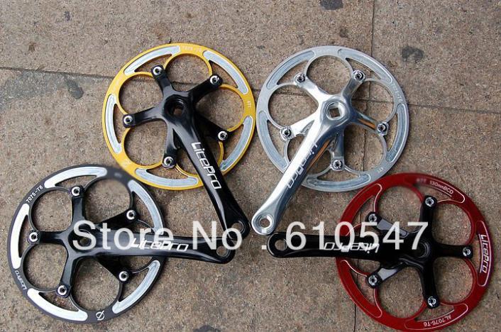 Звезда (системы) для велосипедов Aluminum Alloy Litepro 45T /412 chainwheel /170