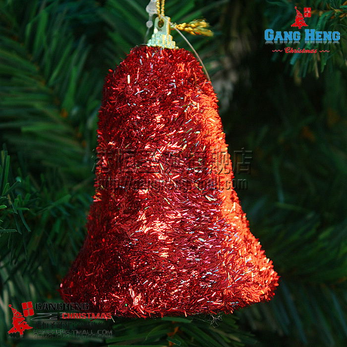 Hot selling christmas tree ornament red