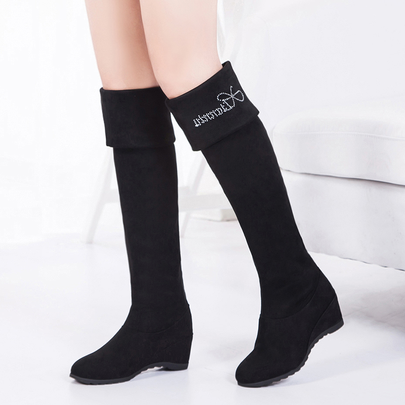 2015 sale winter and autumn up knee high botas feminal