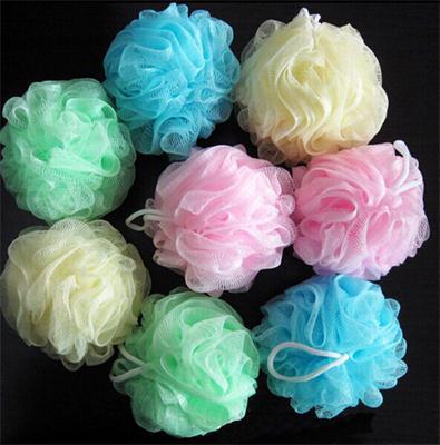 1PCS Multicolour bath ball bathsite bath tubs Cool ball bath towel scrubber Body cleaning Mesh Shower wash Sponge product
