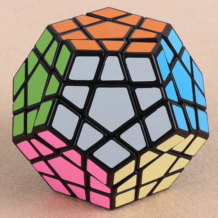 Training Magnetic Games Puzzle length 6.5cm Friendly materials Neocube Magic Cube Christmas Megaminx Cubo Magico toy(China (Mainland))