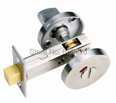 Stainless Steel 304 Solid Bathroom Thubm Turn Indicator Indicating Bolt Bathroom Hardware With