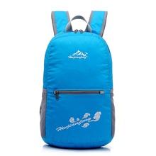 New Nylon folding waterproof Backpack Bike Packsack Road shoulder bag Knapsack waterproof Backpack men Ride pack travel bags(China (Mainland))