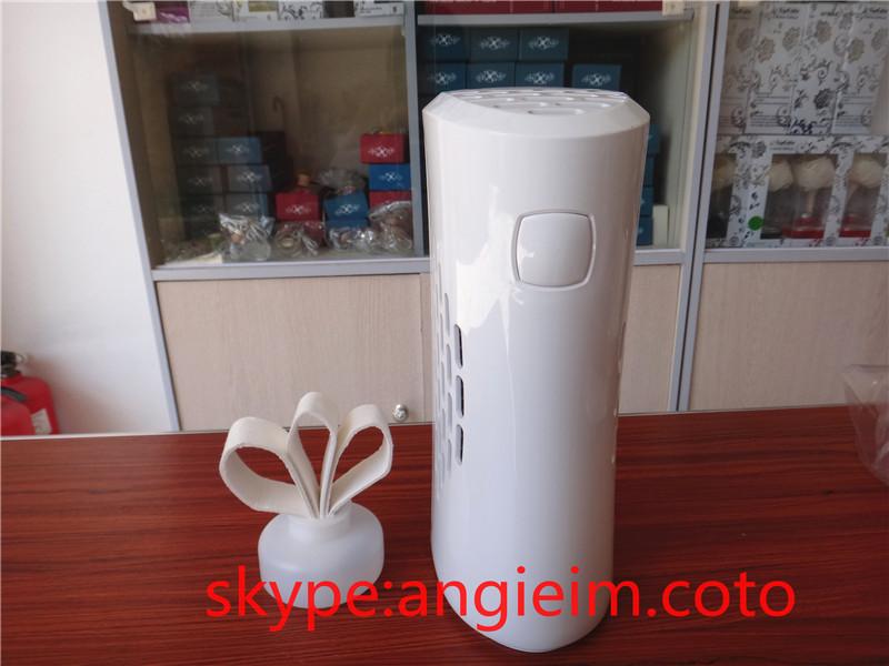 free shipping aroma dispenser aerosol dispenser fan fragrance machine liquid perfume essential oil refill air purifier(China (Mainland))