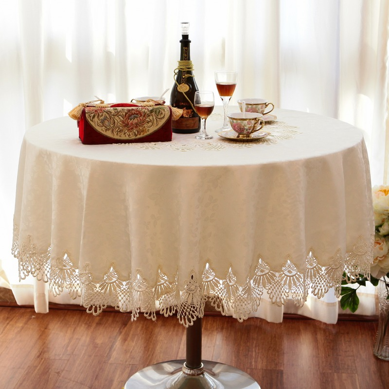 Luxury fashion round table cloth dining table cloth lace  : Luxury fashion round table cloth dining table cloth lace decoration oval tablecloth round table cloth from www.aliexpress.com size 800 x 800 jpeg 136kB