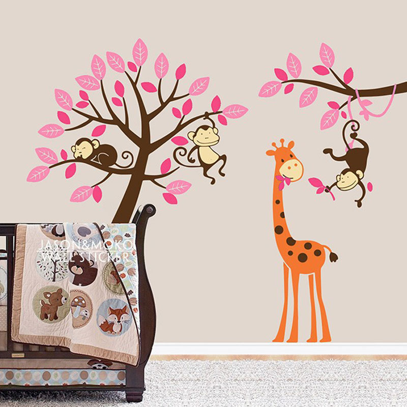Sticker paper for printing picture more detailed picture for Baby room decoration wallpaper