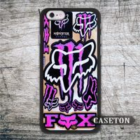Fox Racing Sticker Bombs Classic Case For iPhone 6 6 Plus 5 5s 5c 4 4s and For iPod 5