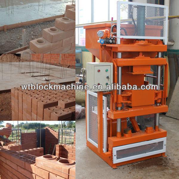soil cement brick making machine
