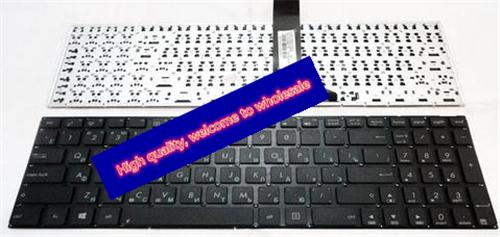 10pc/lot Russian Keyboard Asus P50 K50 K60 K61 K62 K70 K70IJ F90 X5D X51 RU Black laptop keyboard - Marvin liang's store