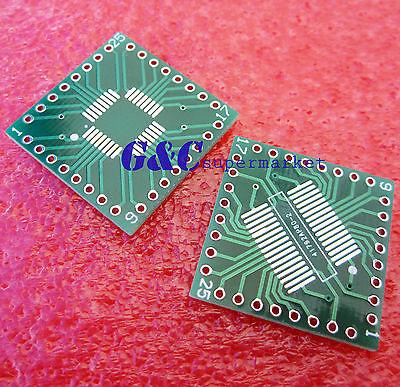 5PCS QFP/TQFP/LQFP/FQFP/SOP/SSOP32 to DIP Adapter PCB Board Converter(China (Mainland))
