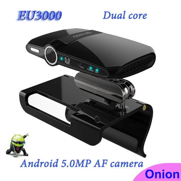 Android 4.2 tv box camera Allwinner A20 Dual Core EU3000 mini PC 1G/8G with 5.0MP Camera Mic HDMI Wifi Skype Web camera for tv(China (Mainland))