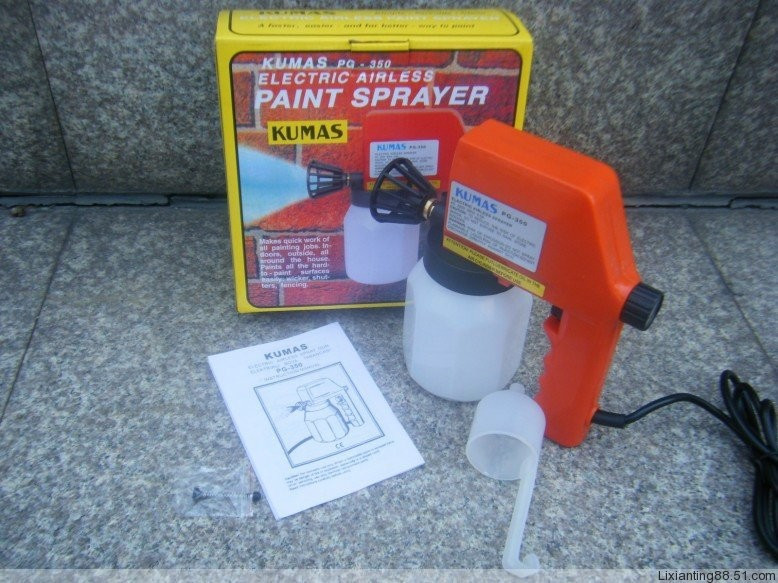 Universal electric airless paint sprayer decoration tools for auto parts, electrical panels, printing(China (Mainland))