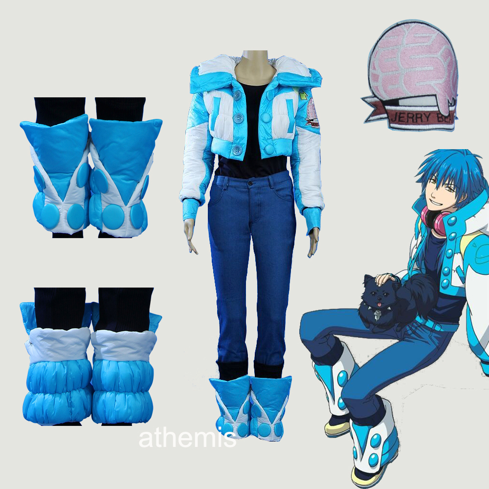 Athemis Dramatical Murder Seragaki Aoba Outfit 7 pieces Anime Cosplay Costume Custom made Any Size High QualityОдежда и ак�е��уары<br><br><br>Aliexpress