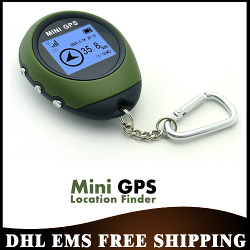 Free DHL EMS 20pcs/lot PG03 Handheld Mini GPS Navigation with Keychain USB Rechargeable For Outdoor Sport Travel,Wholesale(China (Mainland))