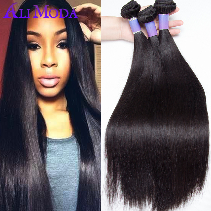 8A Peruvian Straight Virgin Hair 3PCS/lot Peruvian Virgin ...
