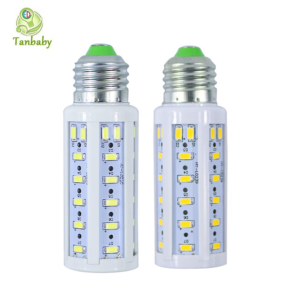 Tanbaby 5pcs/lot E27 corn led bulb 50led SMD 5630 AC220V Warm / White led light lamp 360degree rotation indoor home lighting(China (Mainland))