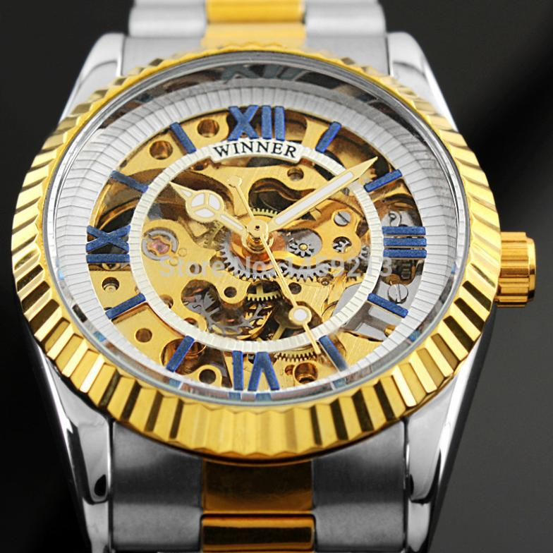 fashion bling bling watches or silver automatic