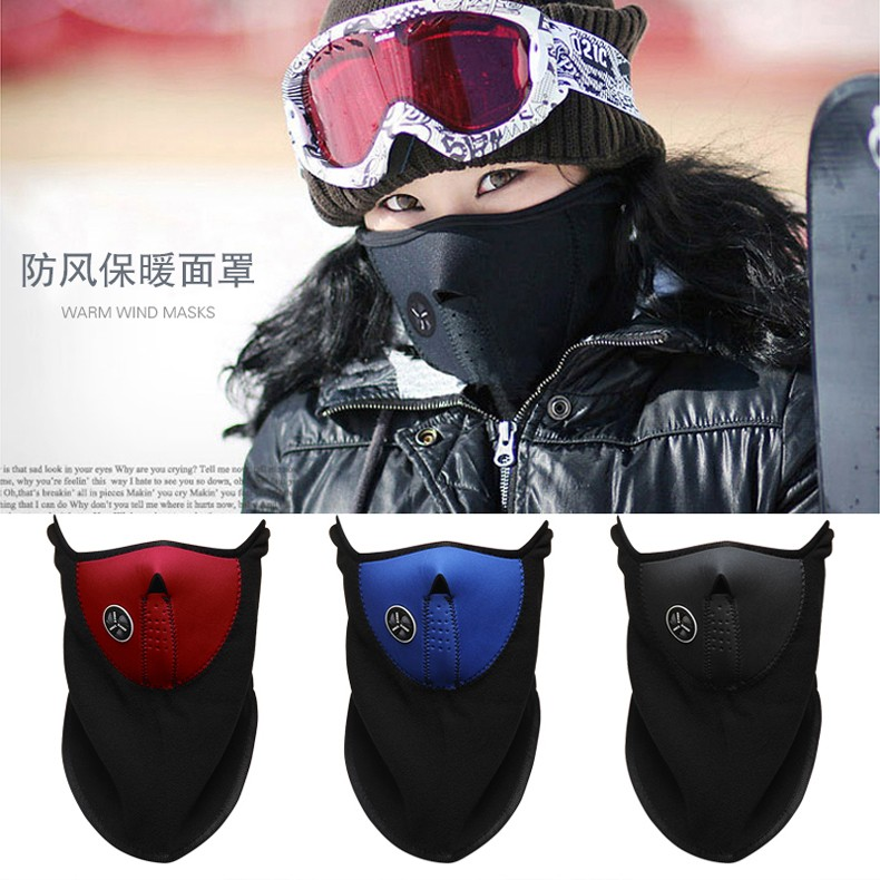 2016 New Arrival Winter Bike Motorcycle Bicycle Ski Snow Snowboard Sport Face Mask Windproof Cold Resist Neck Warm Skiing Bibs (2)