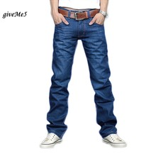 Free Shipping 2013 Fashion Brand Men Denim Jeans Pants Man Slim Straight Leisure and Casual Pants Trousers 12(China (Mainland))