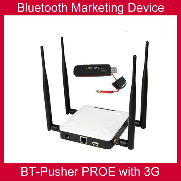 Bluetooth advertising device BT-Pusher PROE with 3G/GPRS(zero cost promote your device , your shop anywhere )cine box(China (Mainland))
