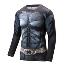 Buy High NEW 2016 Marvel Captain America 2 costume Super Hero jersey T shirt Men USA cosplay clothing long sleeves for $7.90 in AliExpress store