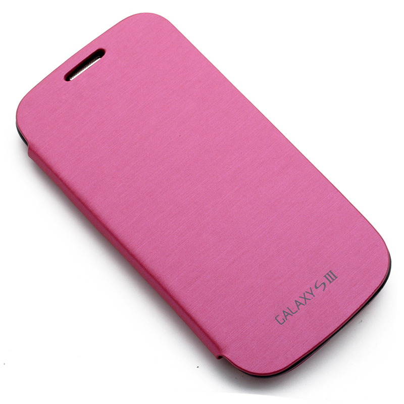 Ultra Slim Thin Flip Leather Back Battery Cover Case For Samsung Galaxy S3 I9300 Galaxy SIII Mobile Phone Battery Back Cover(China (Mainland))