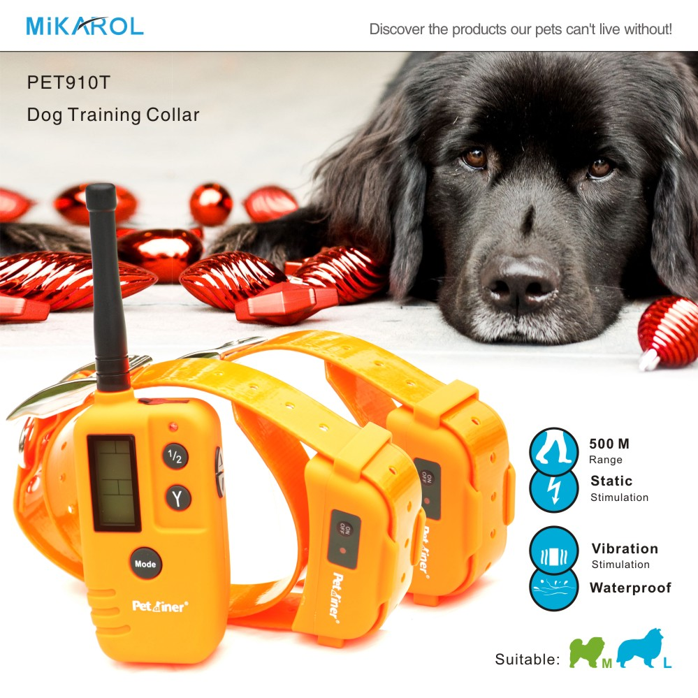 PET910T Dog Training Collar Manufacturer, Remote Shock Collar for Small Dogs Help You Positively and Harmlessly Train Your Dog(China (Mainland))