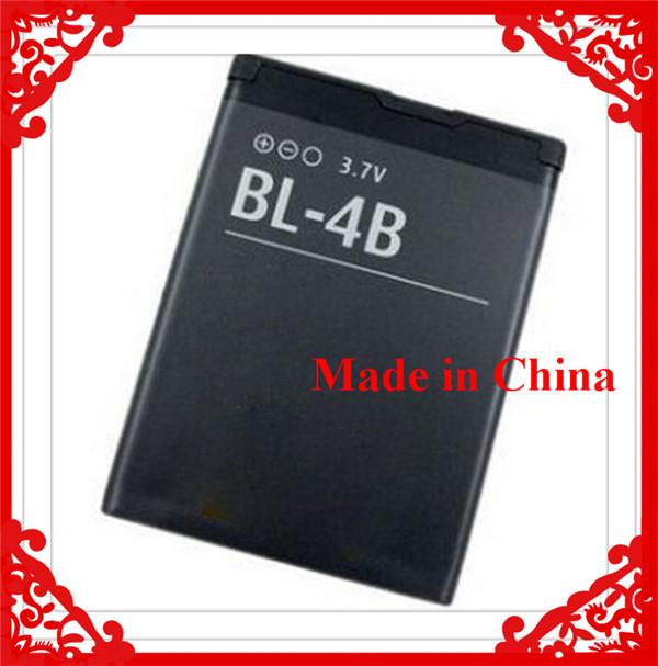 Real 700mAh Mobile Phone Battery Bateria BL-4B BL 4B For Nokia N76 5000 5320XM 7070 2505 2630 2660 2760 7088 2730 6111 N75(China (Mainland))