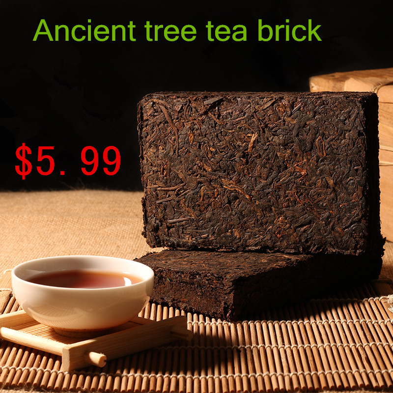 The real 1968 year More than 45 years old pu er tea health care Puer tea weight lose pu erh decompress pu'er brick Puerh the tea(China (Mainland))
