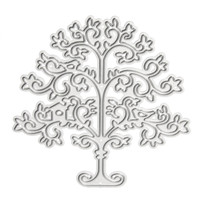 Cutting Dies Stencils Template for DIY Scrapbooking Greeting Card Photo Album Tree Painting Decor Embossing DIY Teaching Tools